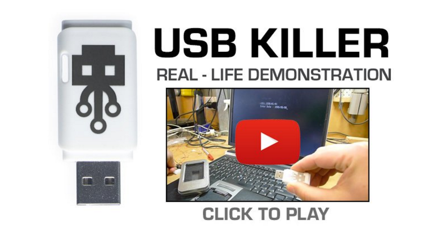USB Killer… Now Publicly For Sale